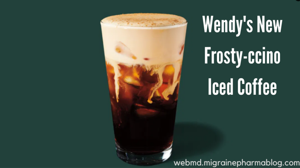 Wendy's New Frosty-ccino Iced Coffee