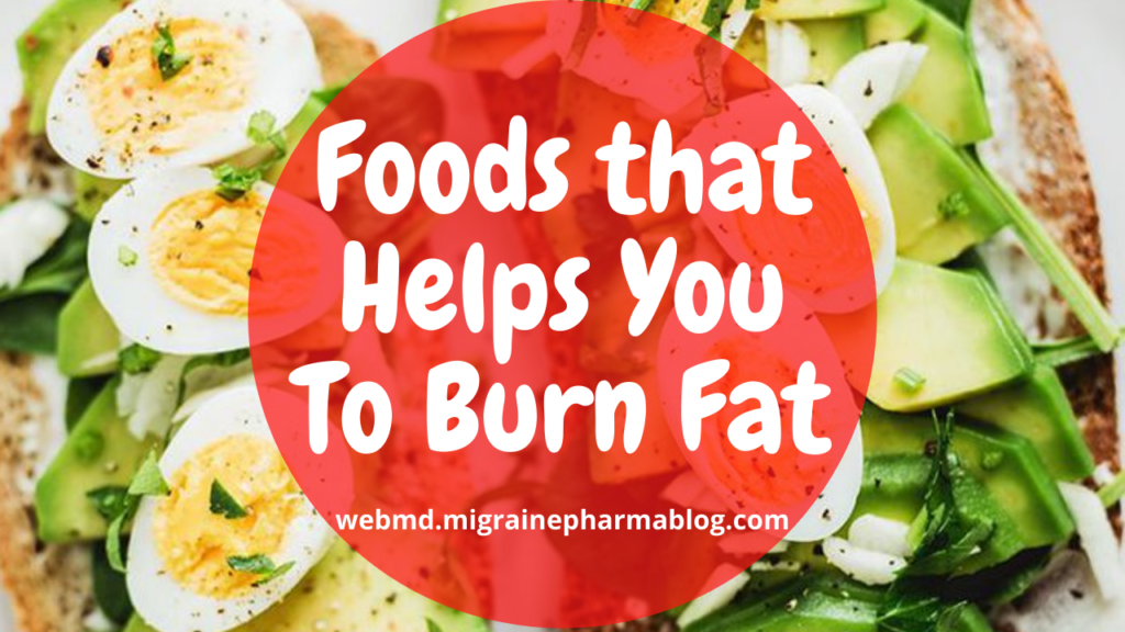 Foods that Helps You To Burn Fat
