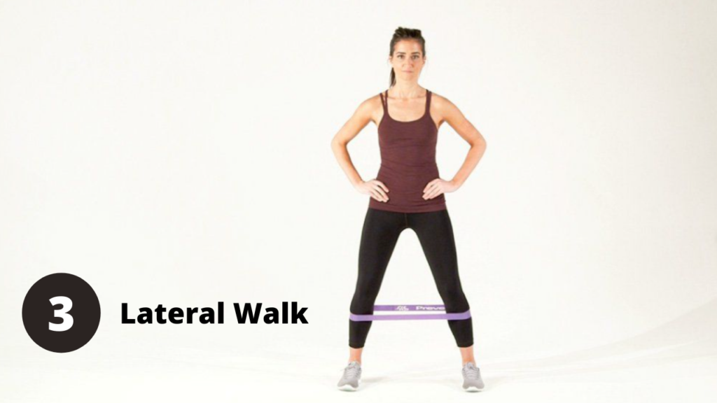 Lateral Walk